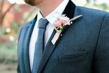 grooms + gents / inspiration for your man and his boys / by Glamour & Grace