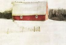 Country/Barns/Flea Markets/cottage living / by Annie Boone