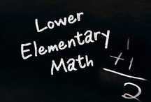 Lower Elementary Math / All these items are on teacherspayteachers.com.  Guidelines: (1) Pin up to 5 items of your own in a day & (2) Repin 2 other people's pins on another board. **If pinning an item for the 2nd time please delete the original pin.  ***No blog, store, or other website links. (Just links to the product directly.)***Pin to the level and subject the board was intended.