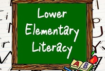 Lower Elementary Literacy / All these items are on teacherspayteachers.com.  Guidelines: (1) Pin up to 5 items of your own in a day & (2) Repin 2 other people's pins on another board. **If pinning an item for the 2nd time please delete the original pin.  ***No blog, store, or other website links. (Just links to the product directly.)***Pin to the level and subject the board was intended.