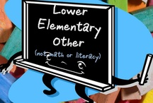Lower Elementary Other / All these items are on teacherspayteachers.com.  Guidelines: (1) Pin up to 5 items of your own in a day & (2) Repin 2 other people's pins on another board. **If pinning an item for the 2nd time please delete the original pin.  ***No blog, store, or other website links. (Just links to the product directly.)***Pin to the level and subject the board was intended.