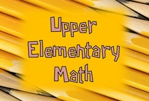 Upper Elementary Math / All these items are on teacherspayteachers.com.  Guidelines: (1) Pin up to 5 items of your own in a day & (2) Repin 2 other people's pins on another board. **If pinning an item for the 2nd time please delete the original pin.  ***No blog, store, or other website links. (Just links to the product directly.)***Pin to the level and subject the board was intended.