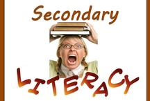 Secondary Literacy / All these items are on teacherspayteachers.com.  Guidelines: (1) Pin up to 5 items of your own in a day & (2) Repin 2 other people's pins on another board. **If pinning an item for the 2nd time please delete the original pin.  ***No blog, store, or other website links. (Just links to the product directly.)***Pin to the level and subject the board was intended.