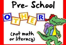 Pre-School Other (not math or literacy) / All these items are on teacherspayteachers.com.  Guidelines: (1) Pin up to 5 items of your own in a day & (2) Repin 2 other people's pins on another board. **If pinning an item for the 2nd time please delete the original pin.  ***No blog, store, or other website links. (Just links to the product directly.)***Pin to the level and subject the board was intended.