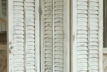 shutters/room dividers / by Annie Boone