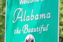 "ABSOLUTELY ALABAMA / HEART OF DIXIE...""My home's in Alabama, no matter where I lay my head.  My home's in Alabama, southern born and southern bred""... (Alabama, the Ft. Payne Boys)   / by Sandra Leopard Jones"