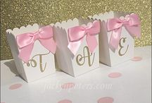 Pink And Gold Celebrations / We Love This Hot Color Combo For Parties And Weddings!
