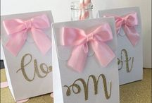 Favor Bags and Boxes / Our Custom Favor Boxes And Treat Bags To Coordinate With Your Party Or Wedding Decor.