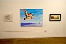 Previous Exhibitions / Selected artworks from previous exhibitions at the Pitt County Arts Council at Emerge.