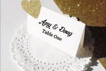 Escort Cards / Creative Ways To Help Your Wedding Guest Find Their Seats.