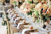 Wedding Tablescapes / Inspiration For Setting The Perfect Wedding Table