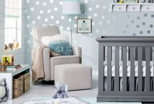 Baby Boy Nursery Ideas / Inspirational Nursery Design For Baby Boys. Furniture, Color Schemes and Decorative Accents Just For Him.