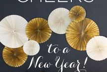 Happy New Year!!! / Glitz and Glam Ideas For Your New Year's Eve Bash! Visit our collection at www.jaclynpeters.com
