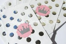 Prince & Princess Parties / A Regal and Elegant Theme For Birthdays and Baby Showers