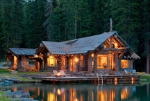 A Cabin in the Woods / Maybe in Queenstown or somewhere in the South Island... either way, it would be amazing! Also fun ideas for camping in the woods / by Laurien Cartwright