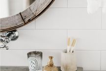 Interiors || Bathroom / Light, bright, and constantly edited.