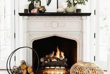 Interiors || Fireplaces