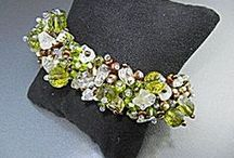 August Birthstone: Peridot / Peridot, the birthstone for those born in the month of August, is said to host magical powers and healing properties to protect against nightmares and to bring the wearer power, influence, and a wonderful year. This board contains examples of peridot that are currently offered by the merchants at www.TIAS.com / by The Internet Antique Shop