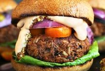 VEGGIE / BURGER / Whether you're a vegetarian or just trying to have a Meatless Monday, you can find amazing veggie burger recipes here!