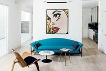 Paintings and Prints for the Home  / Inspiration for choosing and displaying art in your home.