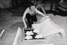 "Modern Masters  / Showcasing works from some of our most famous ""modern"" artists:  Rauschenberg, Koons, Lichtenstein, Oldenburg, Warhol, Indiana, Johns, Baldessari, Frankenthaler, and Kandinsky."