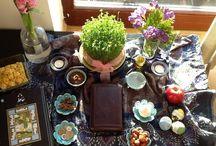 • n o w r o o z • / شروع فصل بهار، سال نو و عيدي نو... و سفره هفت سين :-)  Spring... Iranian New Year (Nowrooz)