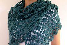 Crochet: Directo al cuello / Shawl, cowl, bufandas, collares....