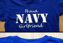 navy love⚓️ / in love with a sailor ❤️❤️ / by Hannah Larca