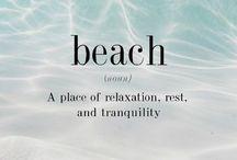Beach life ☀️ / by Cassie Barnes