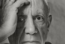 . p a b l o p i c a s o . / Pablo Ruiz y Picasso Spanish 25 October 1881 – 8 April 1973 Painter, sculptor, printmaker, ceramicist, stage designer, poet And playwright who spent most of his adult life in France. One of the greatest and most influential artists of the 20th Century.