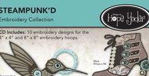Steampunk'd / Steampunk'd Machine Embroidery Designs  Designs by Hope Yoder
