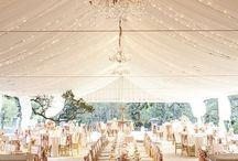 TENT WEDDING IDEAS!