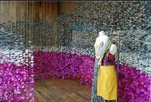 Store Window Displays / Inspirational window displays from Anthropologie and other stores.