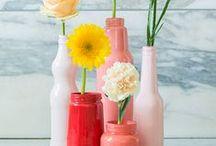 handmade - glass jars