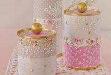 handmade - tin cans
