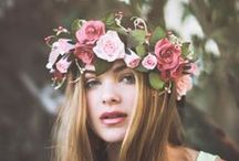 Flowers - flowers in her hair! / by Laura Harrison