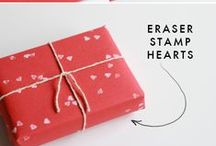 DIY ⇻ Gifts / Giftwrapping ideas but also top of the mind DIY-projects for small, cute gifts