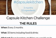 capsule kitchen / simple food: http://bemorewithless.com/kitchen