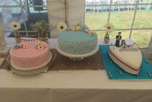My Cakes / Turns out learning to decorate is not a piece of cake / by Courtney Barella