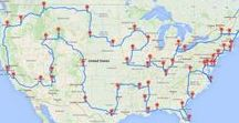 Travel Wishlist ⇻ America / For the journey of a lifetime through America