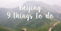 Travel Wishlist ⇻ China / Exploration for our trip during Summer 2016 that brought us to Beijing, Shanghai, Yingtan and Xiamen.  But we will be back!
