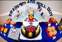 Transformers Party / Inspiration and DIY tutorials on how to throw the ultimate Transformers birthday party.