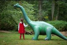 Dinosaur Party / How to throw a dinosaur birthday party, including invitations, activities, decorations, and dessert table ideas.