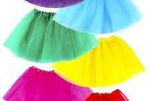 Costumes for Girls / Halloween costumes or dress up play outfits for little girls.
