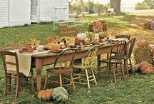 Autumn and Thanksgiving / Inspiration for Thanksgiving decor, food, and crafts. / by Abigail Robertson