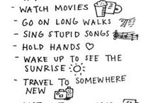 .things to do. / by Maddie Rogers