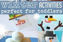 Winter Ideas for Kids / Winter crafts, activities for kids, educational ideas, snacks, treats, and play invitations!
