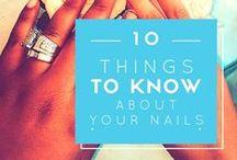 Nails / Nail tips, nail art and inspiration