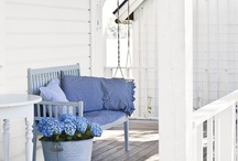 Porch Love / There looks nothing in life more beautiful: than a porch on a hot summer night (drinky in hand, good friends surrounding and breeze in hair). I yearn for Porch Life and a Porch swing xox / by L *freebie* Bailey