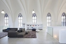 Ceilings!... / I just adore high ceilings. I love the spaces up high. I love to see so many variations. I yearn for high tall ceilings! Wooden beams, high architectural designs. Just inspiring. Come on in, look up high: enjoy the views! xox / by L *freebie* Bailey